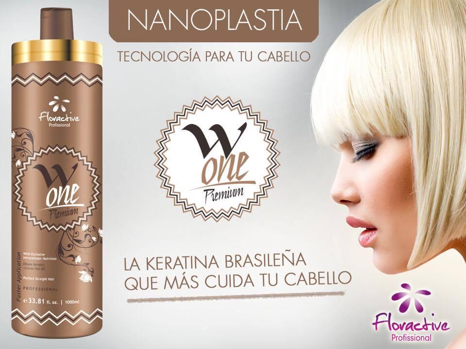 Nanoplastia tecnología para tu cabellos con W-One Premium